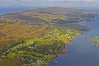 Birdview over Dunvegan